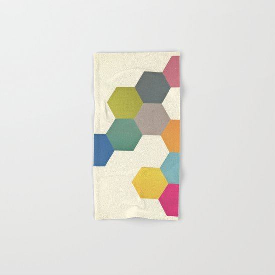 Honeycomb I Hand & Bath Towel