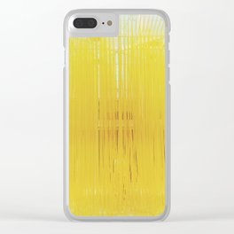 Spaghetti art, LACMA Clear iPhone Case