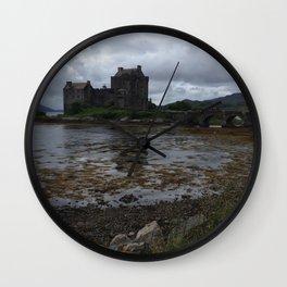 Eilean Donan Castle in Scotland Wall Clock