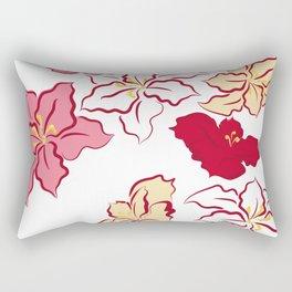 Poinsettia - 4 colors Rectangular Pillow