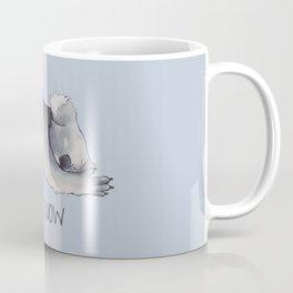 Koala Sketch - Not Now - Lazy animal Coffee Mug