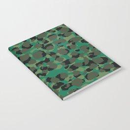 Emerald Leopard Spots Notebook