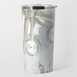 """Dronny Johnny "" Travel Mug"