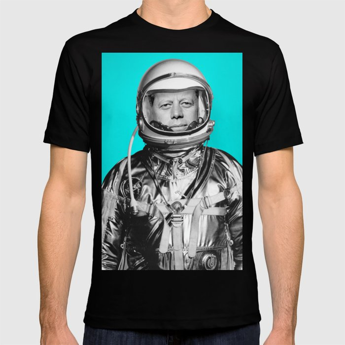 "JFK ASTRONAUT (or ""All Systems Are JFK"") T-shirt"