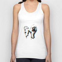 poodle Tank Tops featuring poodle by gloriuos days