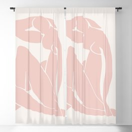 Matisse Print, Henri Matisse, Matisse Poster, Matisse Art,Matisse Cut Out, Fine Art Print, Female Nu Blackout Curtain