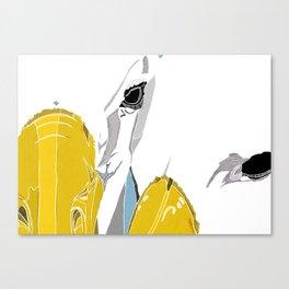 Albatross In Love Canvas Print