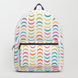 Lovely geometric Pattern VVV Backpack