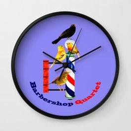 Barbershop Quartet - Most Products Wall Clock