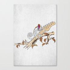 Envy - The Chameleon of Rock Canvas Print