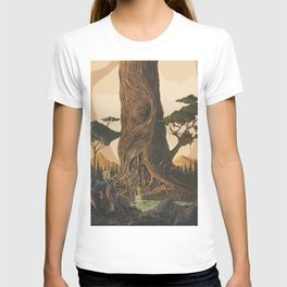 The Ancient Heart Tree T-shirt