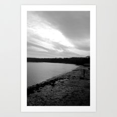 Dark River Art Print
