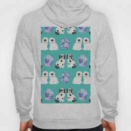 Staffordshire Dogs + Ginger Jars No. 2 Hoody