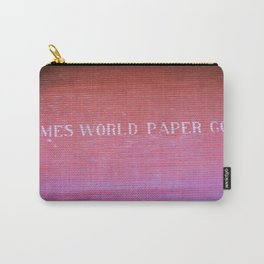 Times World Paper Carry-All Pouch
