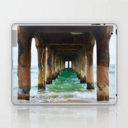 Manhattan Beach Pier Laptop & iPad Skin