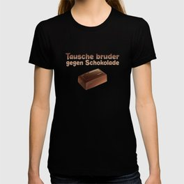 Chocolate Brother Siblings T-shirt
