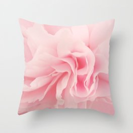 Ethereal Pink Throw Pillow