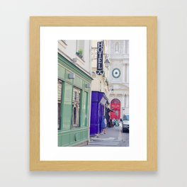 Street of Le Marais - Paris Framed Art Print