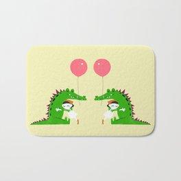 Crocodile Hug Bath Mat