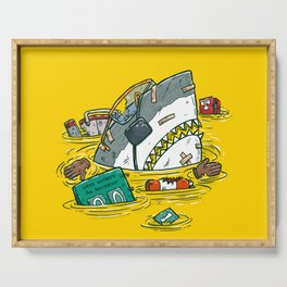 Safety Third Shark Serving Tray