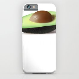 Avocado Avocados are a Must Halve Foodie Pun iPhone Case