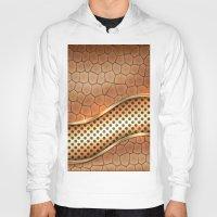 anaconda Hoodies featuring Blingin Anaconda by Robin Curtiss