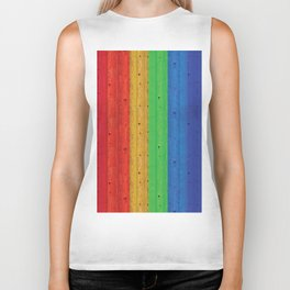 Colours Of The Rainbow Biker Tank