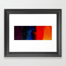 multi-colors Framed Art Print