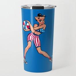 CoolNoodle USA Olympic Travel Mug