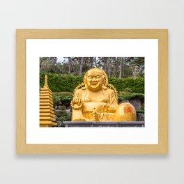 Haedong Yonggungsa Dharma Framed Art Print