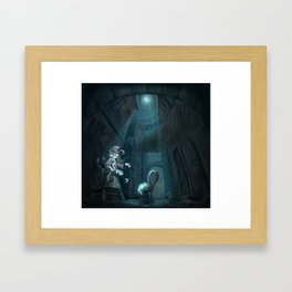Hey Diddle diddle Framed Art Print