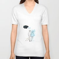tfios V-neck T-shirts featuring TFIOS  by swiftstore