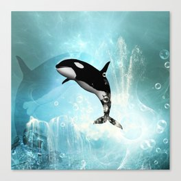 The orca Canvas Print