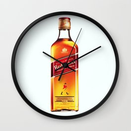 Johnny Red Wall Clock