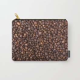 Coffee beans pattern Carry-All Pouch