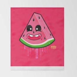 "Walter ""Sweet"" Melon Throw Blanket"