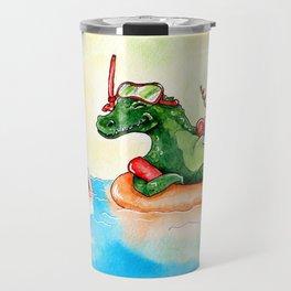 Croco Bath Travel Mug