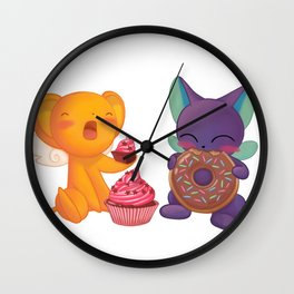 Kero and Suppie Wall Clock