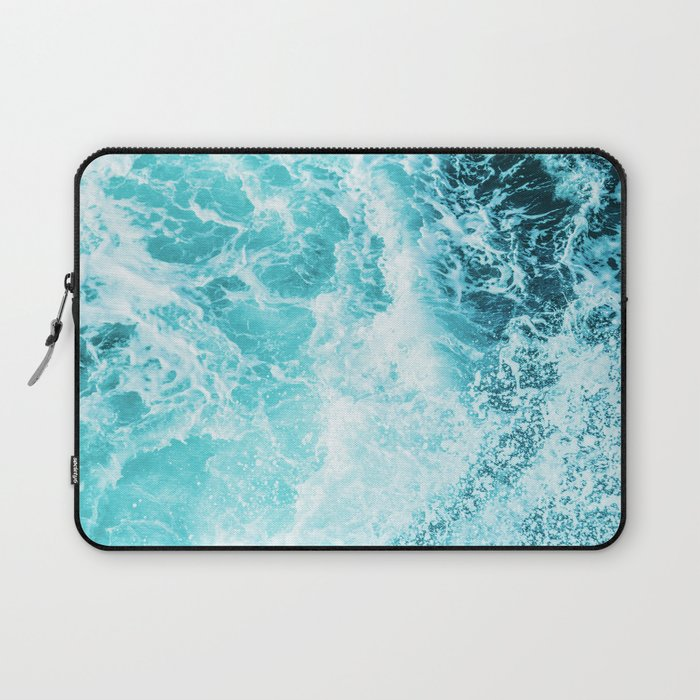 Perfect Sea Waves Laptop Sleeve