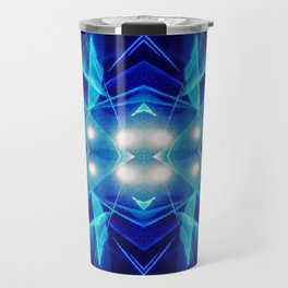 iDeal - Electric Blues Travel Mug