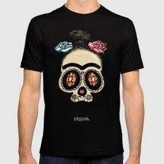 Frida Mens Fitted Tee LARGE Black