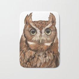 Screech Owl Bath Mat