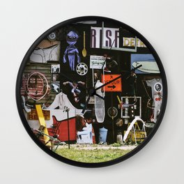 Detroit Heidelberg Project Wall Clock