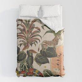 Jungla Crema Comforters