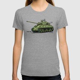 Dogs of War: Sherman Tank T-shirt