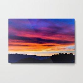 High Desert Sunrise Metal Print