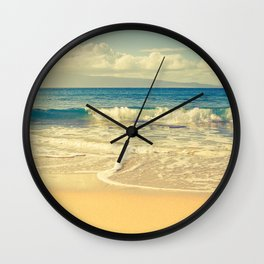 Kapalua Maui Hawaii Wall Clock