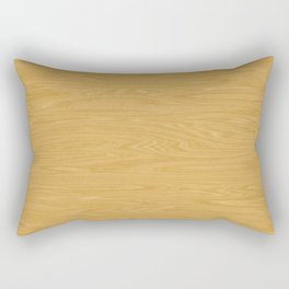 Oak Wood Texture Rectangular Pillow