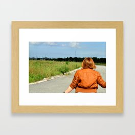 Witcover Street - Kickass Trecking Framed Art Print