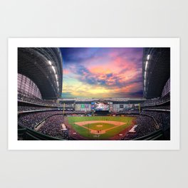 Late Afternoon Game Art Print